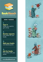 Bookmooch Bookmark Vertical